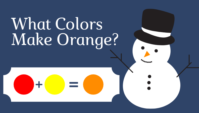 What Colors Make Orange?