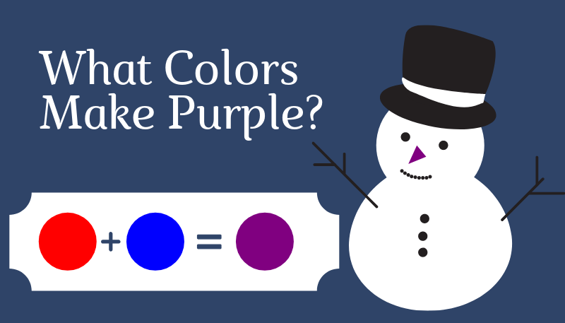 What Colors Make Purple?