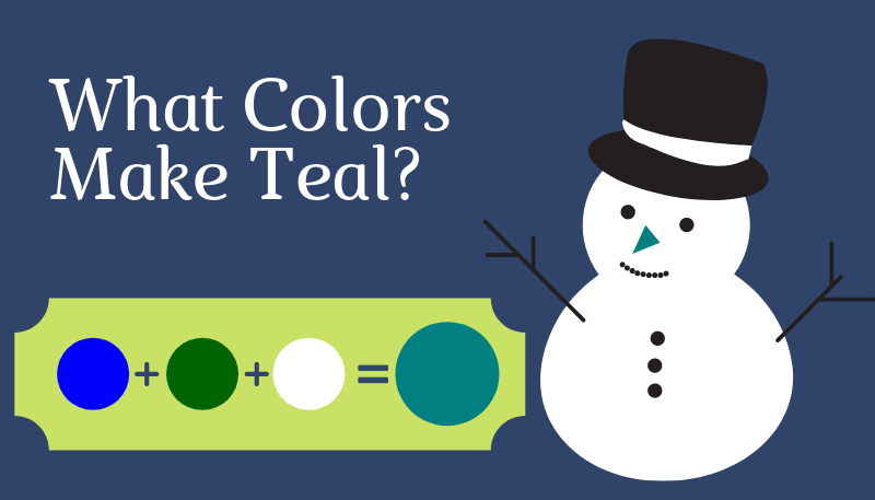 What Colors Make Teal?